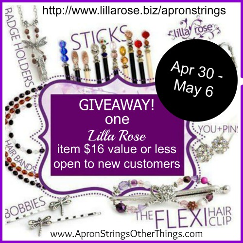 LR Blogiversary giveaway - Apron Strings & other things