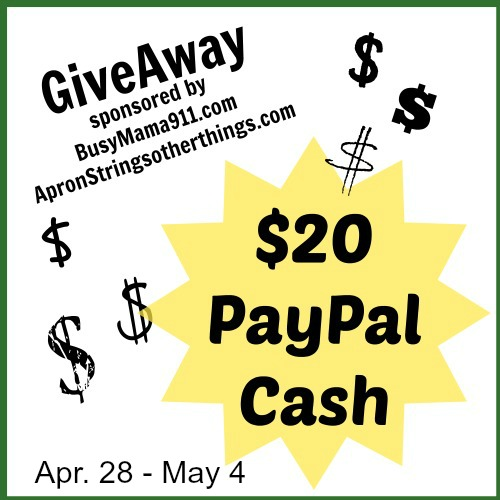 Paypal Cash - Apron STrings Other Things