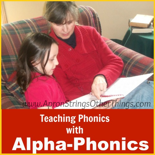 Teaching Phonics Alpha-Phonics Apron Strings & other things