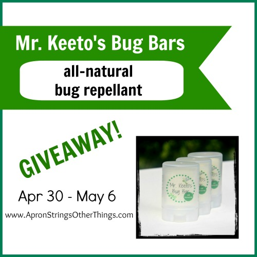 bug bars giveaway - Apron Strings & other things