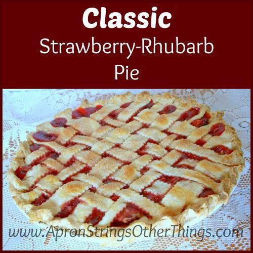 Classic Strawberry-Rhubarb Pie