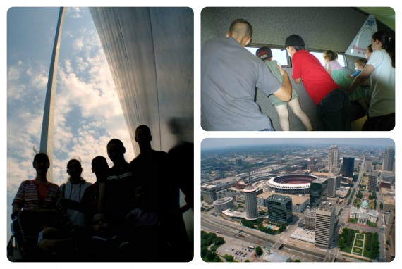 Staycation St Louis Arch - Apron Strings & other things