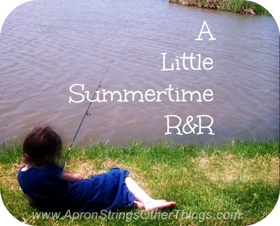 A Little R and R for The Last Days Of Summer