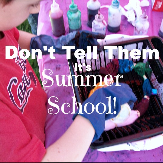 Don't Tell Them It's Summer School - Apron Strings & other things