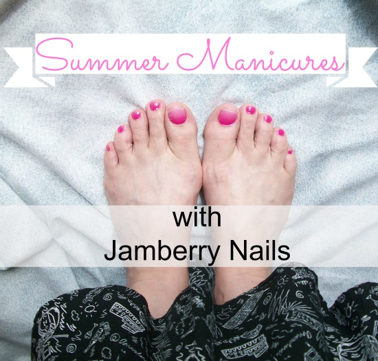 Summer Manicure with Jamberry & a Giveaway