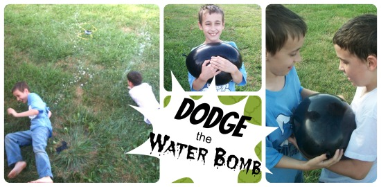 Poor Man's Water Park - Dodge the WaterBomb - Apron Strings & other things