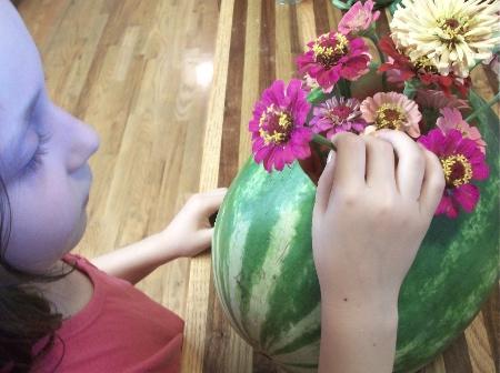 watermelon vase 1