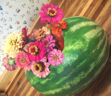watermelon vase 2