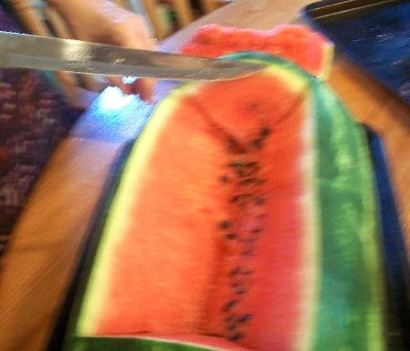 watermelon vase 5