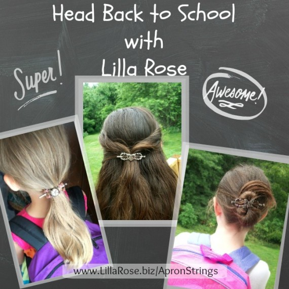 Back to School with Lilla Rose - Apron Strings & other things