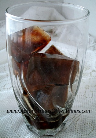 How to Make Iced Coffee 2 - Apron Strings & other things
