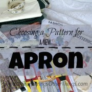 Choosing an Apron Pattern