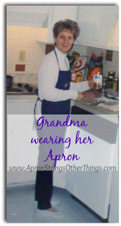 Grandma's Apron - Apron Strings & other things