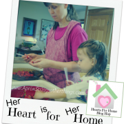 Hearts for Home 10.23.14 - Apron Strings & other things