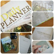 Homemaker's Friend Daily Planner - Apron Strings & other things