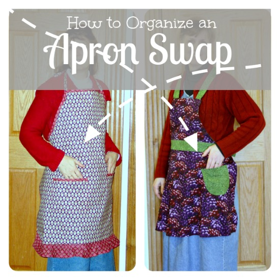 Organize an Apron Swap - Apron Strings & other things