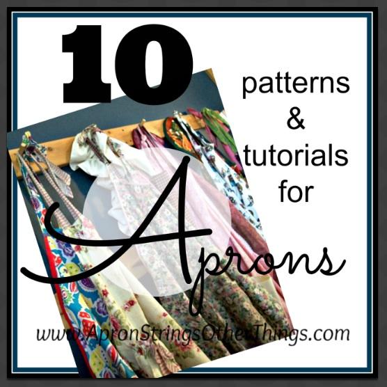 Making your own apron is a terrific way to learn basic sewing skills.