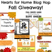 Hearts for Home Blog Hop with Fall Themed Giveaway