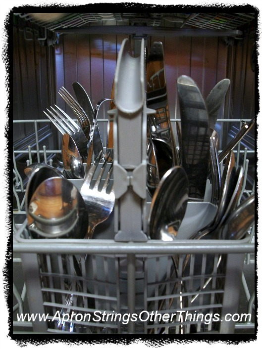dishwasher utensils - Apron Strings & other things