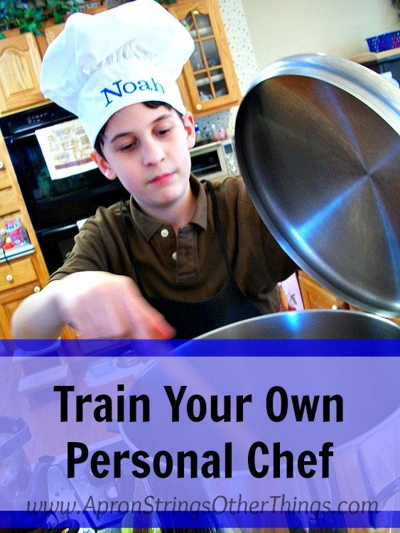 Train Personal Chef Simplified Dinners New Cooks Apron Strings & other things