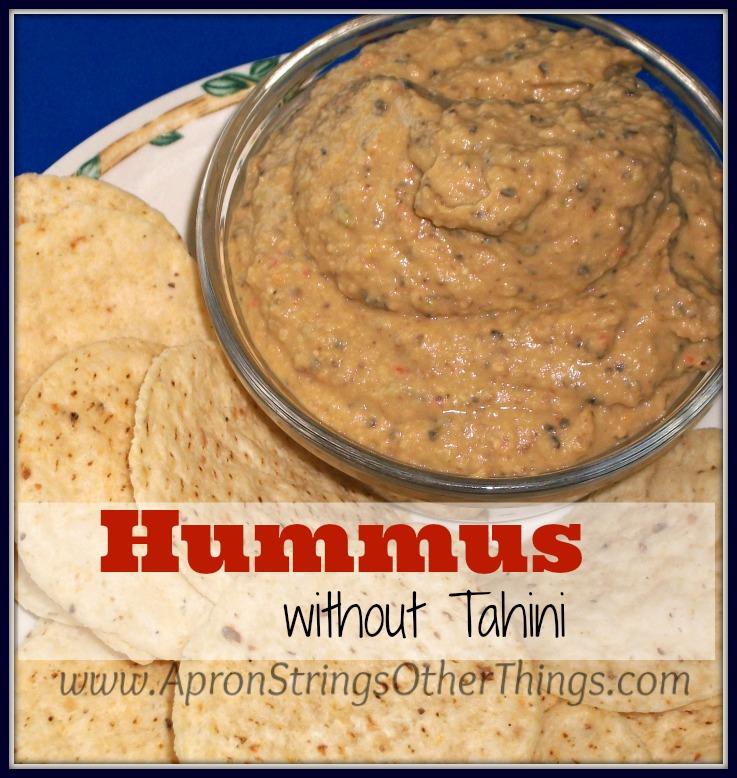 Easy Hummus Recipe Without Tahini