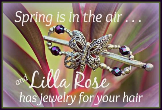 Spring Lilla Rose ad