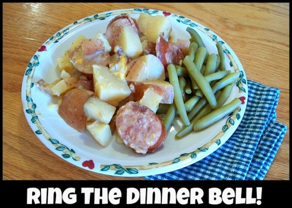 Cheesy Potatoes and Sausage 6