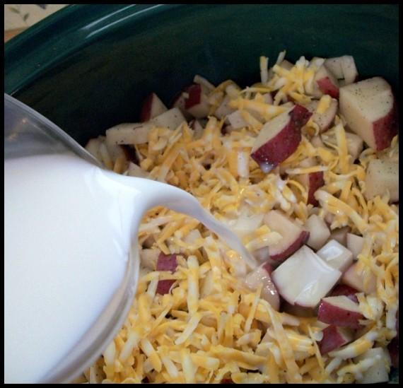 Cheesy Potatoes and Sausage Recipe 5