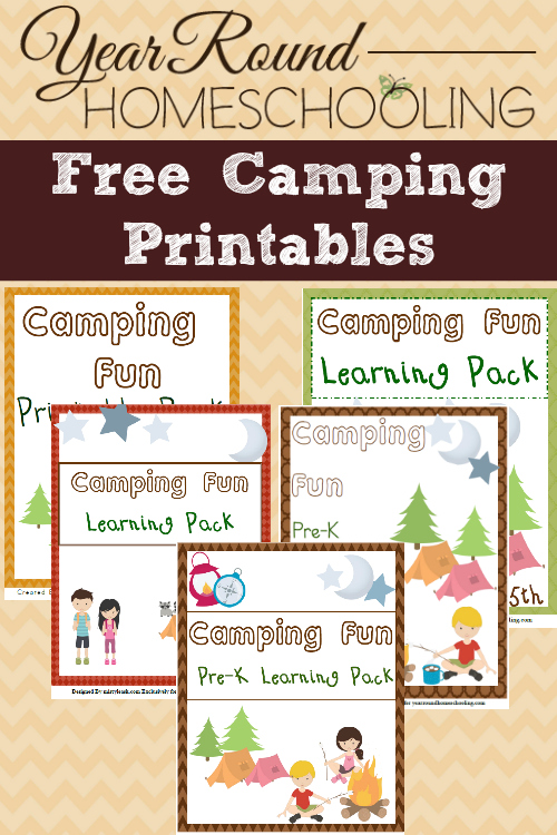 hfh 5.28.15 Free-Camping-Printables-PreK-through-Middle-School
