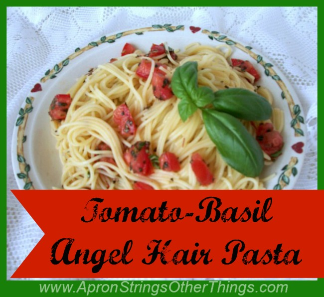 Tomato Basil Angel Hair Pasta