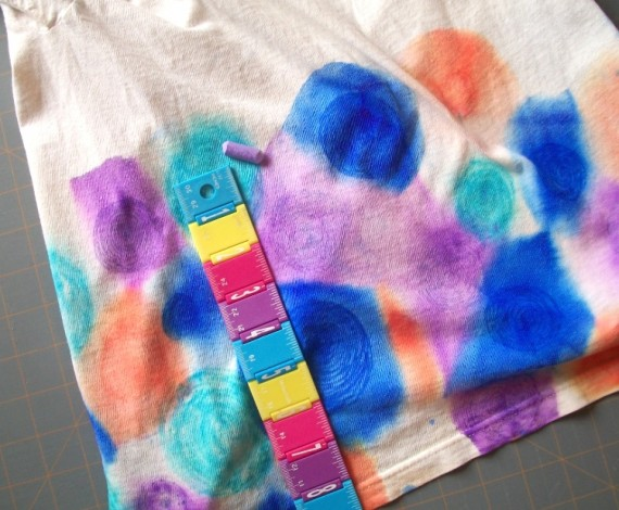 Faux Tie Dye Tshirt 8 - Apron Strings other things