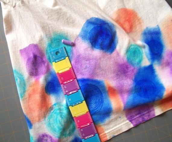 Faux Tie Dye Tshirt 8 - Apron Strings other things