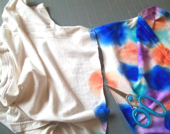 Faux Tie Dye Tshirt 9 - Apron Strings other things