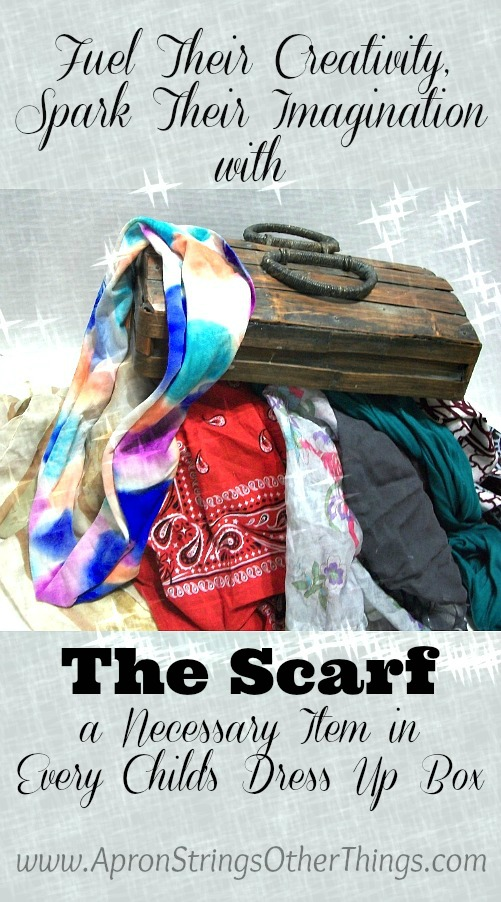 Scarf in Dress Up Box title - Apron Strings & other things