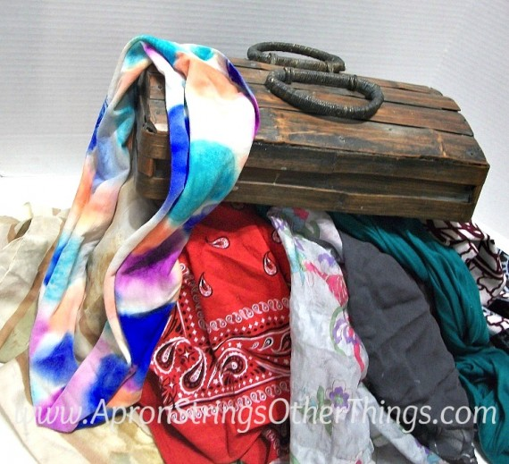 Scarf in the Dress Up Box - Apron Strings & other things
