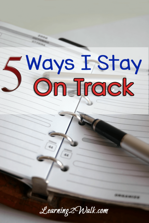 hfh 8.5.15 5-ways-I-stay-on-track