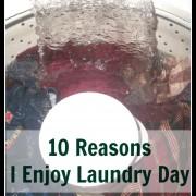 10 Reasons I Enjoy Doing Laundry