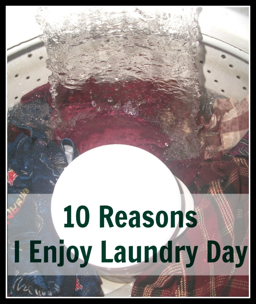 10 Reasons I Enjoy Laundry Day at ApronStringsOtherThings.com