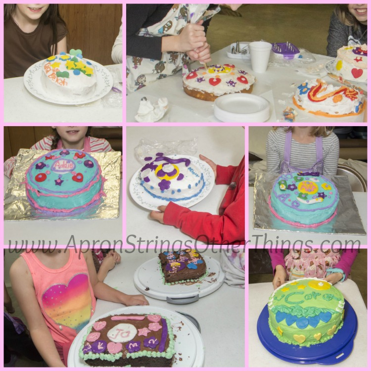 Cake Decorating Class at ApronStringsOtherThings.com