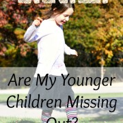I.R.L. Are My Younger Children Missing Out?
