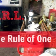 I.R.L. The Rule of One