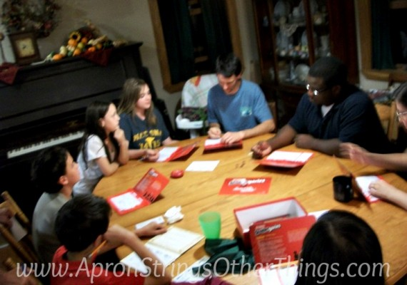 Savor the Moments game night at ASlobComesClean.com
