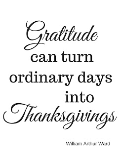 Gratitude can turn printable