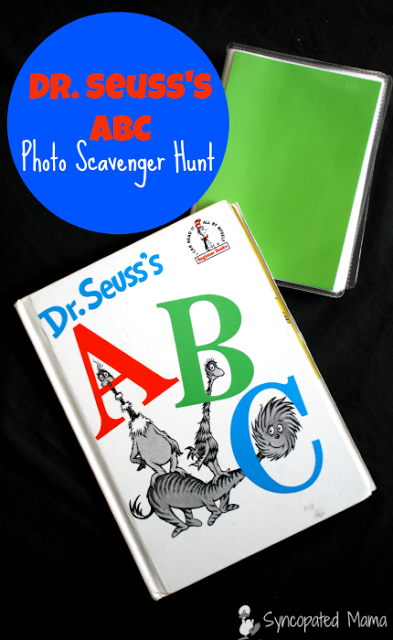 hfh 4.6.16 Dr. Seuss's ABC Photo Scavenger Hunt