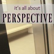 Five on Friday {it's all about PERSPECTIVE}