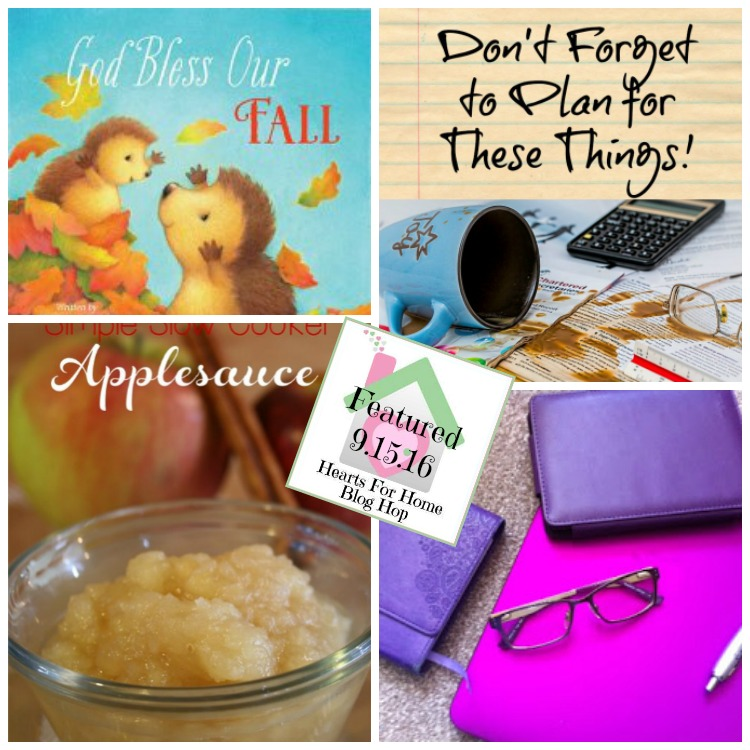 Hearts for Home Blog Hop 9.15.16