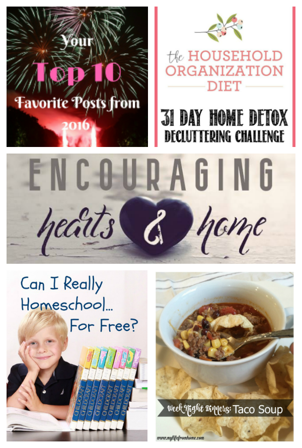 Encouraging Hearts and Home Blog Hop 1.17.17 Featured at ApronStringsOtherThings.com