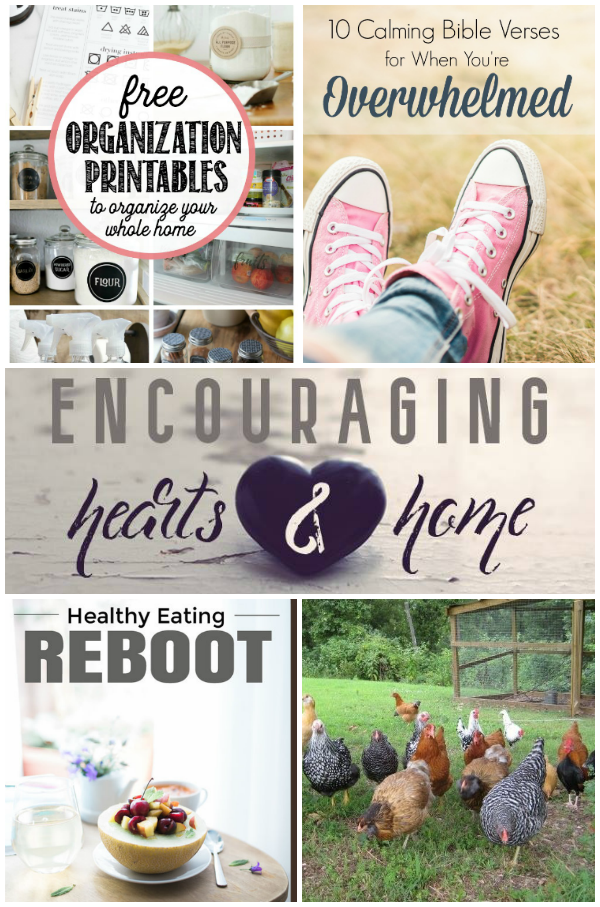 Encouraging Hearts and Home Blog Hop Featured 1.19.17 at ApronStringsOtherThings.com