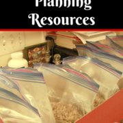 Monthly Menu Planning Resources