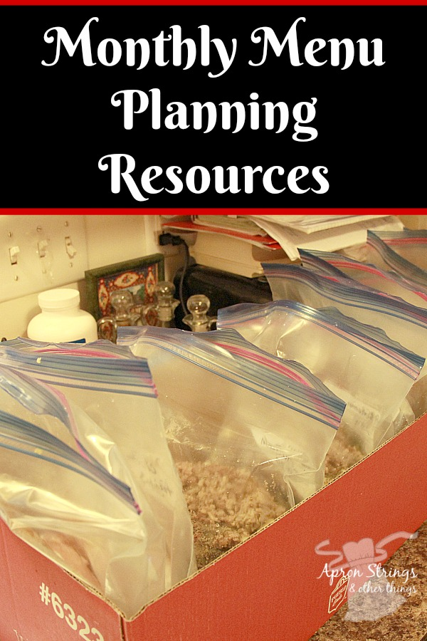 monthly-menu-planning-resources-at-apronstringsotherthings-com-pin